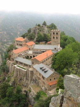 A mountain monastery in French Catalonia