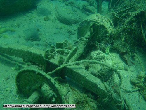 Not every underwater wreck in Caesaria's harbour is an ancient treasure