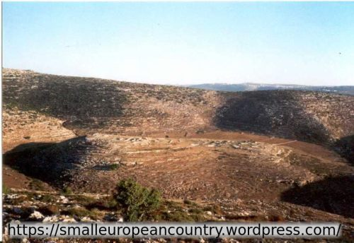 Classic Biblical landscapes in Samaria, the heart of Israel