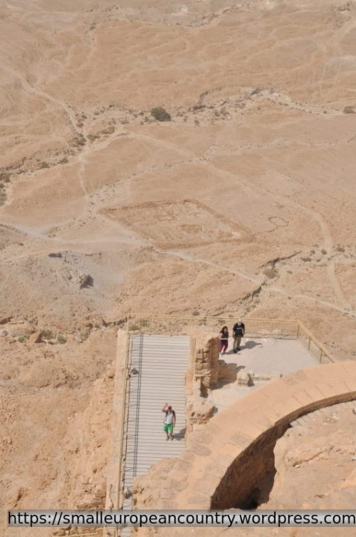 2000 years old camps of Roman legions around Masada are well preserved in the desert air